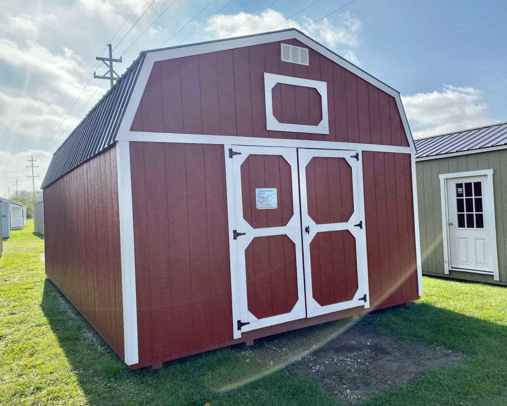 amish-built-storage-barn-red-color
